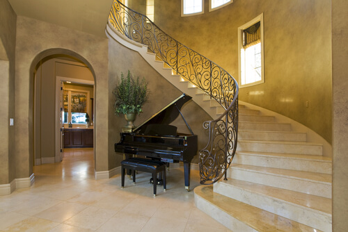 Austin Tuscan-style Home Interior